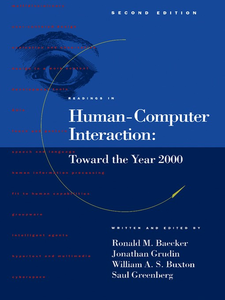 Ebook in inglese Readings in Human-Computer Interaction -, -