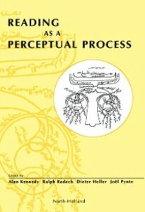 Ebook in inglese Reading as a Perceptual Process