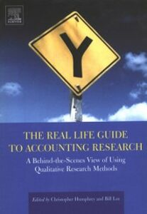 Foto Cover di Real Life Guide to Accounting Research, Ebook inglese di  edito da Elsevier Science