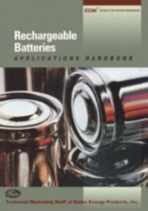 Ebook in inglese Rechargeable Batteries Applications Handbook Products, Gates Energy