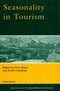 Ebook in inglese Seasonality in Tourism -, -