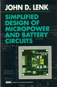 Ebook in inglese Simplified Design of Micropower and Battery Circuits Lenk, John