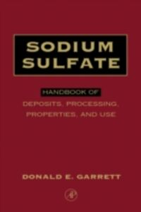 Ebook in inglese Sodium Sulfate Garrett, Donald E.