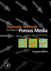 Ebook in inglese Stochastic Methods for Flow in Porous Media Zhang, Dongxiao