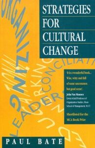 Ebook in inglese Strategies for Cultural Change Bate, S. Paul