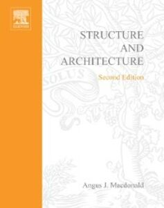 Ebook in inglese Structure and Architecture MACDONALD, ANGUS J