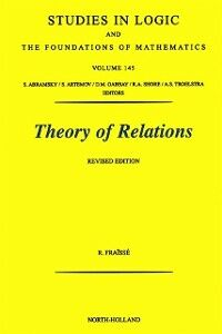 Foto Cover di Theory of Relations, Ebook inglese di R. Fraisse, edito da Elsevier Science