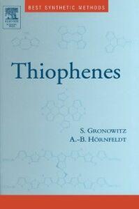 Ebook in inglese Thiophenes Gronowitz, Salo , Hornfeldt, Anna-Britta