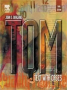 Ebook in inglese TQM: Text with Cases Oakland, John S