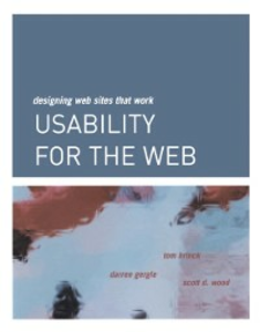 Ebook in inglese Usability for the Web Brinck, Tom , Gergle, Darren , Wood, Scott D.