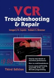 Ebook in inglese VCR Troubleshooting & Repair Brenner, Robert , Capelo, Gregory