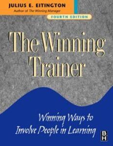 Foto Cover di Winning Trainer, Ebook inglese di Julius E. Eitington, edito da Elsevier Science
