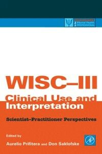 Ebook in inglese WISC-III Clinical Use and Interpretation -, -