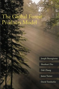 Ebook in inglese Global Forest Products Model Buongiorno, Joseph , Tomberlin, David , Turner, James , Zhang, Dali