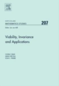 Ebook in inglese Viability, Invariance and Applications Carja, Ovidiu , Necula, Mihai , Vrabie, Ioan I.
