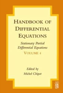 Ebook in inglese Handbook of Differential Equations: Stationary Partial Differential Equations -, -