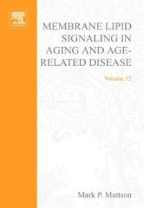 Ebook in inglese Membrane Lipid Signaling in Aging and Age-Related Disease