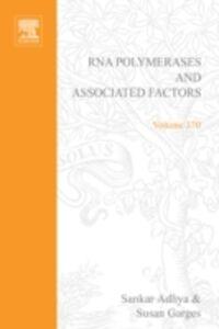 Foto Cover di RNA Polymerase and Associated Factors, Part C, Ebook inglese di  edito da Elsevier Science