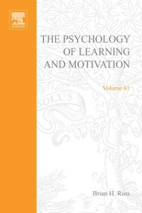 Ebook in inglese Psychology of Learning and Motivation -, -