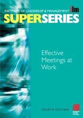 Effective Meetings at Work Super Series