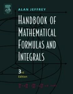 Ebook in inglese Handbook of Mathematical Formulas and Integrals Jeffrey, Alan