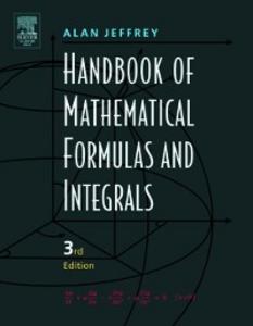 Ebook in inglese Handbook of Mathematical Formulas and Integrals Jeffrey, Alan