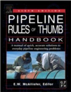 Ebook in inglese Pipeline Rules of Thumb Handbook McAllister, E.W.