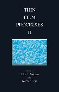 Foto Cover di Thin Film Processes II, Ebook inglese di Werner Kern, edito da Elsevier Science