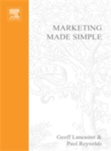 Foto Cover di Marketing Made Simple, Ebook inglese di Geoff Lancaster,Paul Reynolds, edito da Elsevier Science