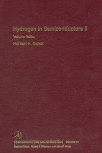 Foto Cover di Hydrogen in Semiconductors II, Ebook inglese di  edito da Elsevier Science