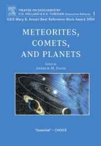 Ebook in inglese Meteorites, Comets, and Planets