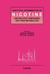 Ebook in inglese Analytical Determination of Nicotine and Related Compounds and their Metabolites