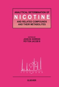 Ebook in inglese Analytical Determination of Nicotine and Related Compounds and their Metabolites -, -