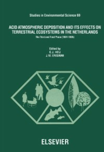 Ebook in inglese Acid Atmospheric Deposition and its Effects on Terrestrial Ecosystems in The Netherlands -, -