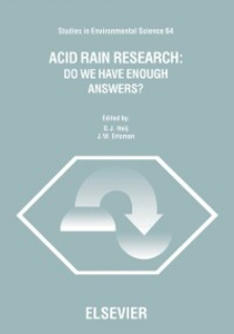 Ebook in inglese Acid Rain Research: Do We Have Enough Answers? -, -