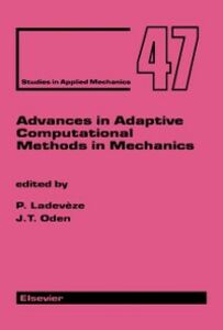 Ebook in inglese Advances in Adaptive Computational Methods in Mechanics -, -