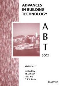 Ebook in inglese Advances in Building Technology Anson, M. , Ko, J.M. , Lam, E.S.S.