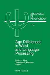 Age Differences in Word and Language Processing