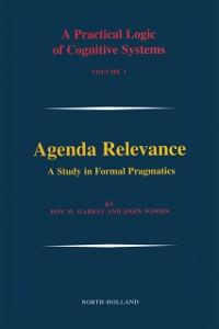 Ebook in inglese Agenda Relevance: A Study in Formal Pragmatics -, -