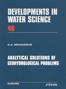 Ebook in inglese Analytical Solutions of Geohydrological Problems -, -