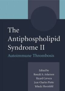 Ebook in inglese Antiphospholipid Syndrome II -, -