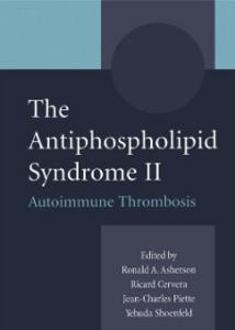 Ebook in inglese Antiphospholipid Syndrome II -, -