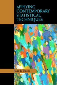 Ebook in inglese Applying Contemporary Statistical Techniques Wilcox, Rand R.