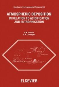 Ebook in inglese Atmospheric Deposition Draaijers, G.P.J. , Erisman, J.W.