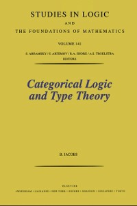 Ebook in inglese Categorical Logic and Type Theory Jacobs, B.