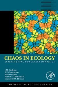Ebook in inglese Chaos in Ecology Costantino, Robert F. , Cushing, J. M. , Dennis, Brian , Desharnais, Robert