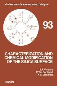 Ebook in inglese Characterization and Chemical Modification of the Silica Surface Vansant, E.F. , Voort, P. Van Der , Vrancken, K.C.
