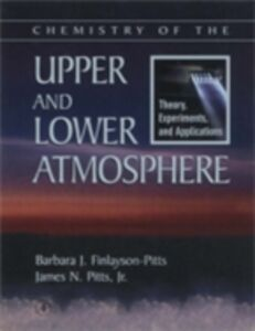 Ebook in inglese Chemistry of the Upper and Lower Atmosphere Finlayson-Pitts, Barbara J. , James N. Pitts, Jr.