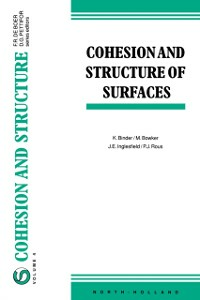 Ebook in inglese Cohesion and Structure of Surfaces -, -