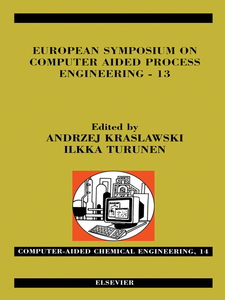 Ebook in inglese European Symposium on Computer Aided Process Engineering--13 Kraslawski, Andrzej , Turunen, Ilkka